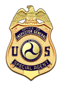 Office of Inspector General - Special Agent logo