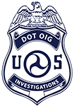 DOT OIG Investigations badge logo